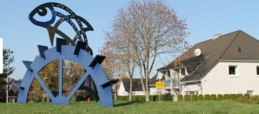 Ortseingang Lachendorf mit Titel