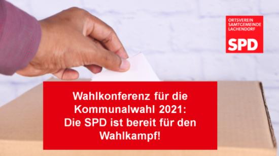 SPD OV SG Lachendorf Bereit fuer den Wahlkampf