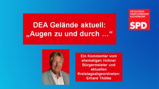 SPD Hohne DEA Gelaende Augen zu und durch