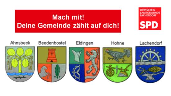 SPD OV Lachendorf Mach mit Deine Gemeinde zaehlt auf dich