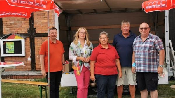 20210731 SPD Wahlstand Gemeinde Hohne
