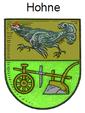 Wappen Gemeinde Hohne